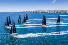 GC32 World Championship Lagos. © Sailing Energy/GC32 Racing Tour. 14 September, 2017.
