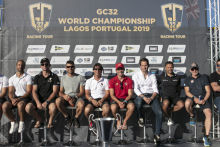 GC32 World Championship Lagos. © Sailing Energy/GC32 Racing Tour. 26 June, 2019.