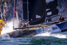 GC32 RIVA CUP, Lago di Garda, Italy. Jesus Renedo/Sailing Energy/GC32 Racing Tour. 11 September, 2019.