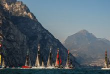 GC32 RIVA CUP, Lago di Garda, Italy. Jesus Renedo/Sailing Energy/GC32 Racing Tour. 13 September, 2019.