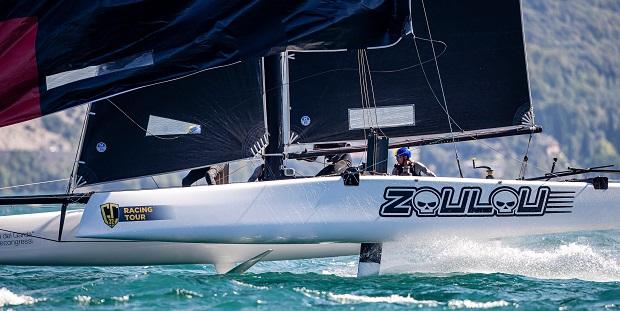 GC32 RIVA CUP, Lago di Garda, Italy. Jesus Renedo/Sailing Energy/GC32 Racing Tour. 12 September, 2019.