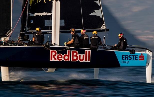 GC32 RIVA CUP, Lago di Garda, Italy. Jesus Renedo/Sailing Energy/GC32 Racing Tour. 14 September, 2019.