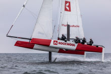 Team ROCKWOOL Racing hits Danish waters for the first time || June Saturday 20th 2020 || Photo: Brian Carlin/RockWool ©